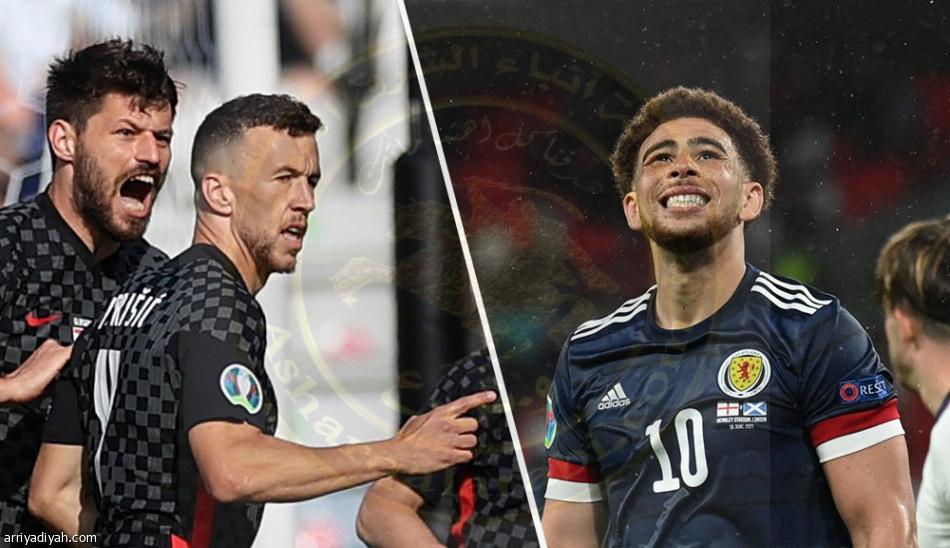 كرواتيا وصيف بطل مونديال 2018 ببطولة أمم أوروبا فى مواجهة حاسمة عندما يواجه اسكتلندافي الجولة الأخيرة من منافسات المجموعة الرابعة.