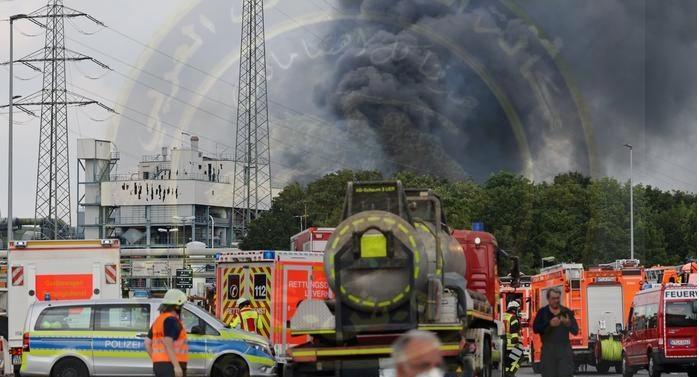 حصيلة غير نهائيةانفجار  بمصنع كيماويات بليفركوزن الألمانية