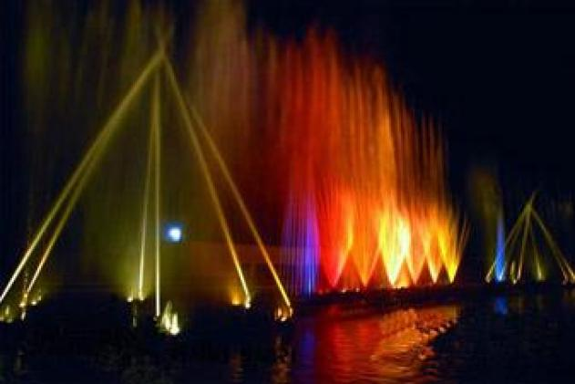 Musical Fountain, Science City, Ahmedabad