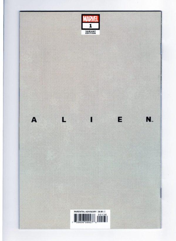 Alien 1—Back Cover