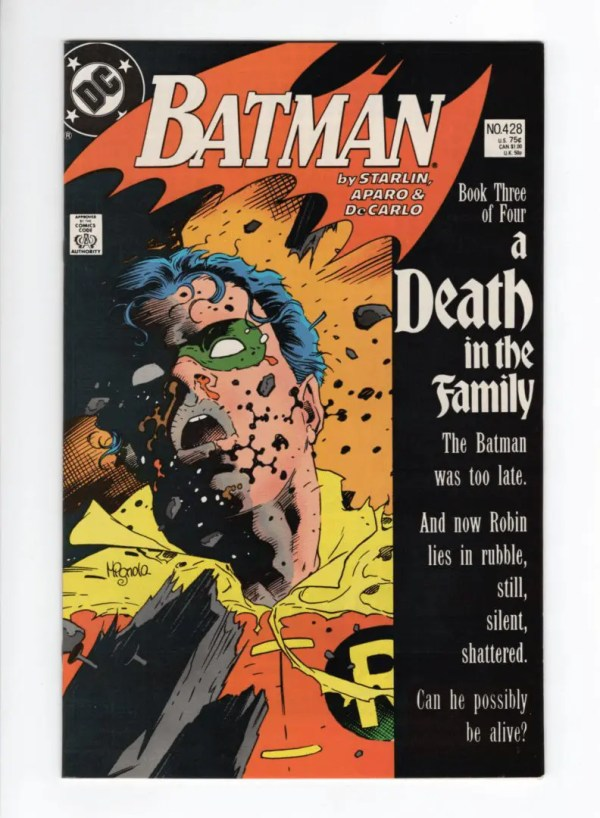 Batman 428—Front Cover