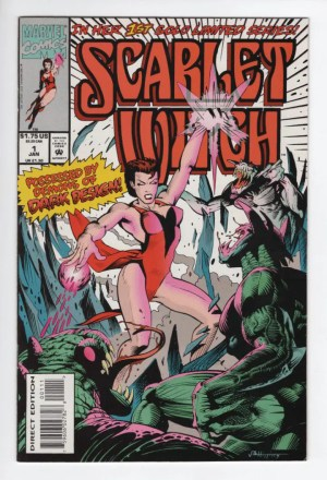 Scarlet Witch 1 (1994)—front cover