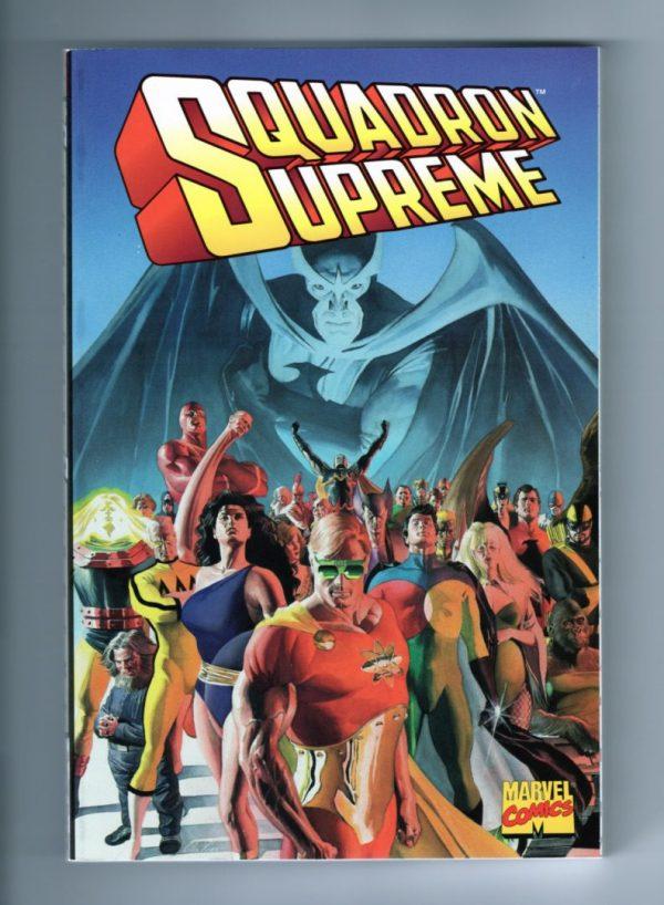Squadron Supreme TPB—(Front Cover)