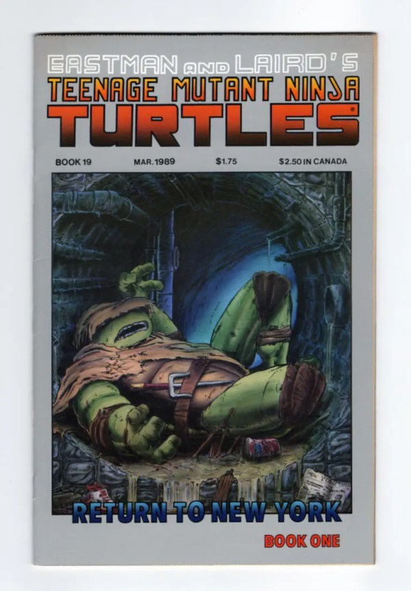 TMNT 19—Front Cover