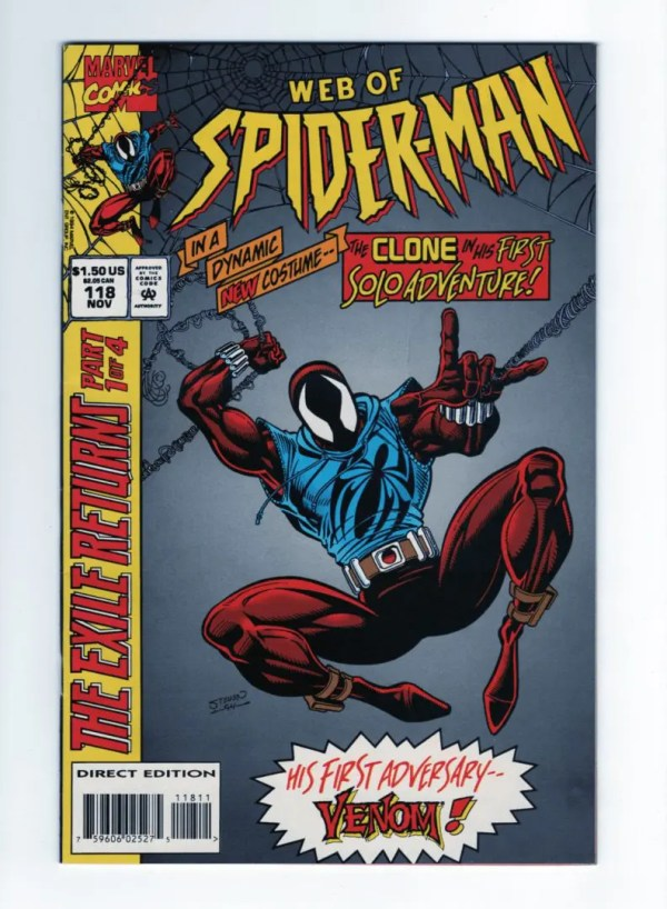Web of Spider-Man 118—Front Cover