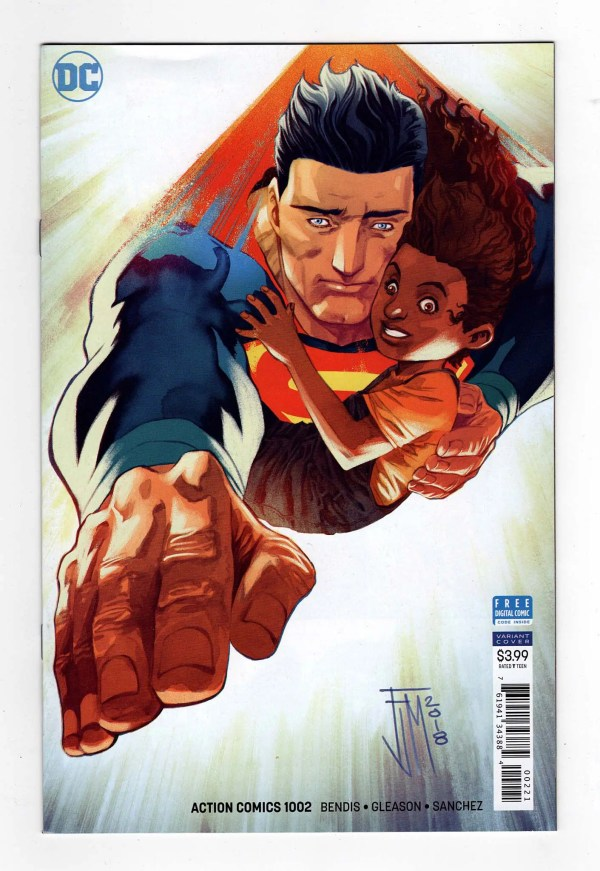 Action Comics 1002 (Cover B)—Front Cover)