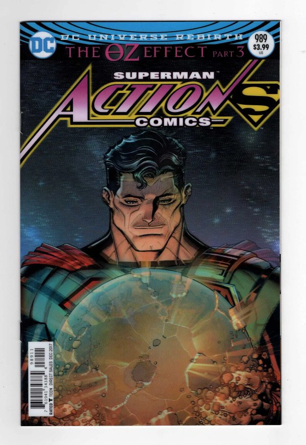 Action Comics 989—Front Cover