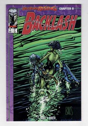 Backlash 8—Front Cover