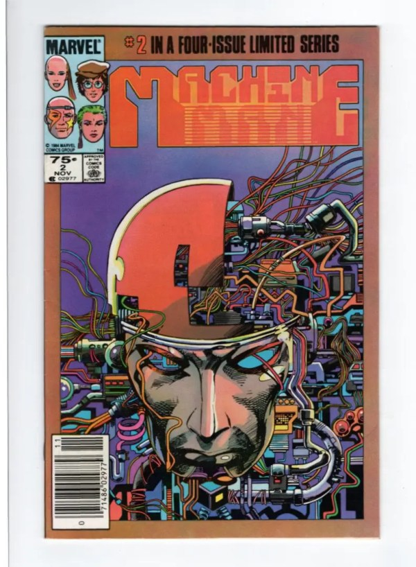 Machine Man 2—Front Cover