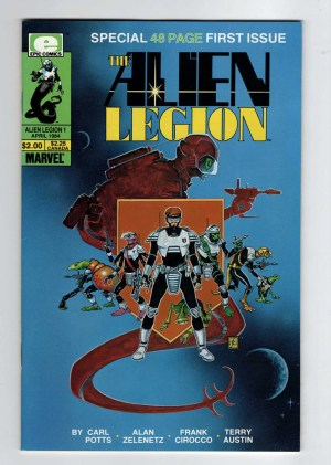 Alien Legion 1—Front Cover
