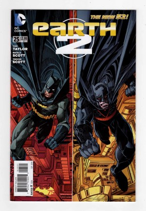Earth 2 25—Front Cover