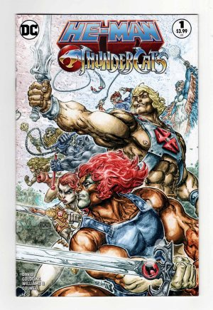 He-Man/Thundercats 1—Front Cover