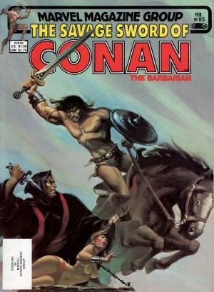 Savage Sword of Conan 85—Front Cover