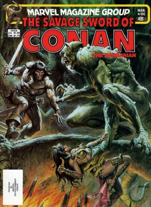 Savage Sword of Conan 86—Front Cover