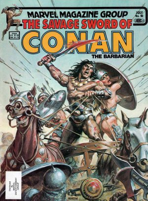 Savage Sword of Conan 90—Front Cover