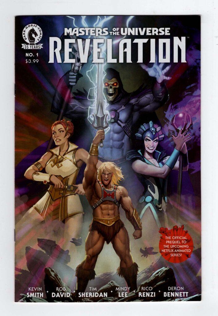 Masters of the Universe Revelation 1a—Front Cover | Motu Revelation | He-man Netflix