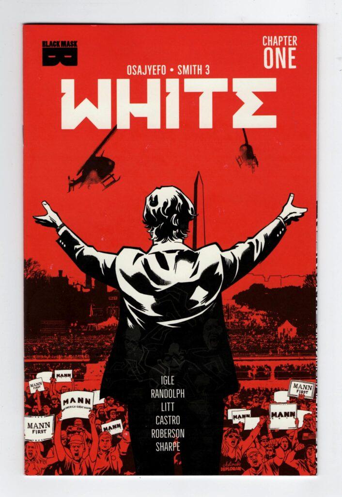 White 1 | Jamal Igle White | Kwanza Osajyefo White | White Comic | White Black Mask