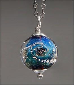 Medium Silver Memorial Ash Bead