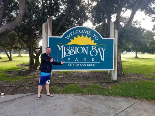 Mission Bay Sign