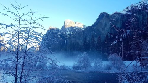 Bridalveil Falls Yosemite Valley