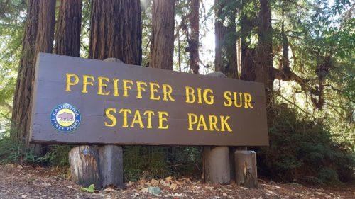 Big Sur State Park Sign