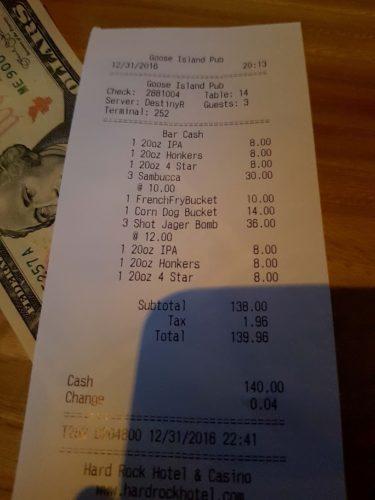 Expensive Shots Las Vegas
