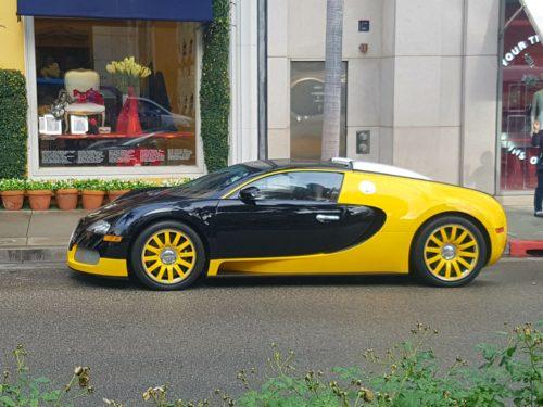 Bugatti Veyron Los Angeles