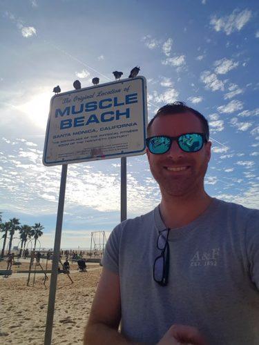 Muscle Beach Los Angeles