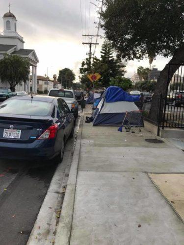 Homeless Los Angeles