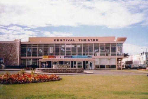 Festival Theatre Paignton beach History