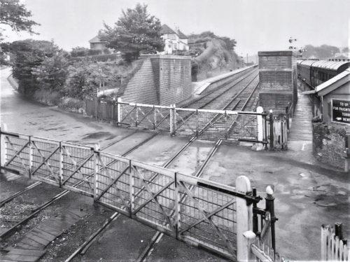 Paignton's third level crossing. Tanners Road, Goodrington