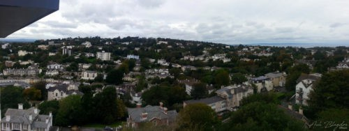 View over Torquay from Ridgeway Heights