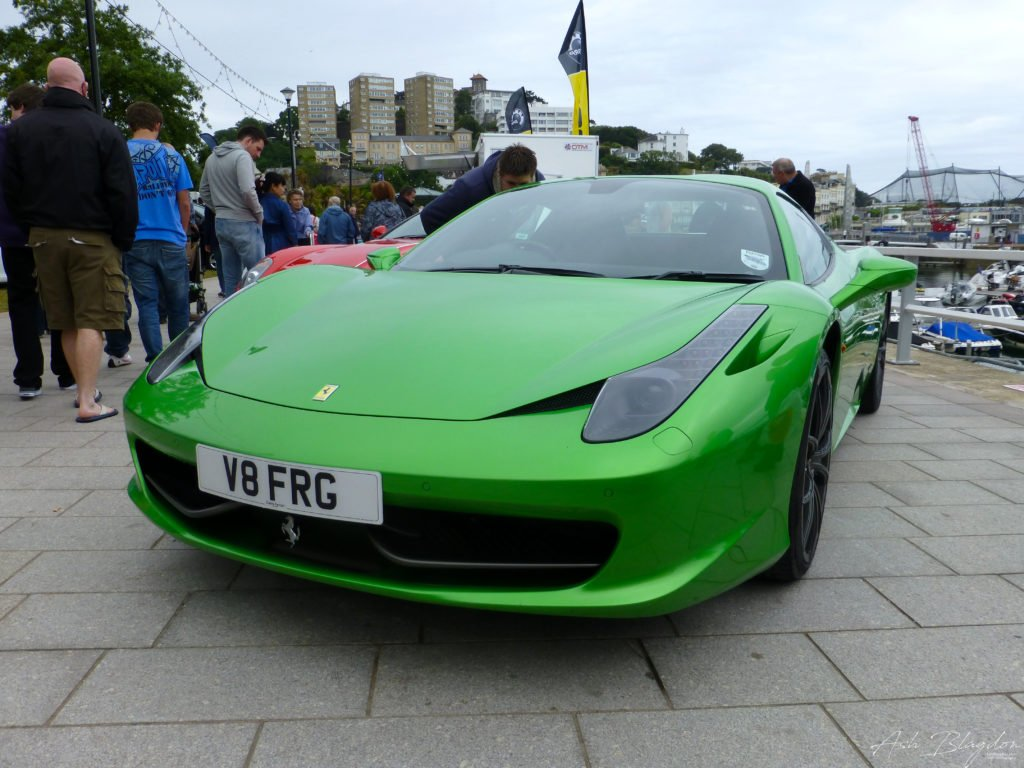 Supercar Weekend, Princess Gardens, Torquay, 2013