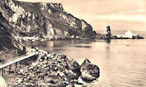 Ansteys Cove 1930s postcard Torquay History