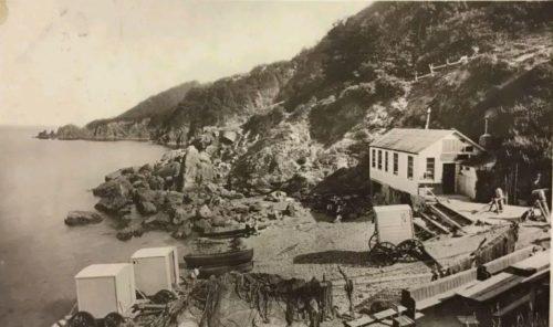 Anstey's Cove, Torquay History