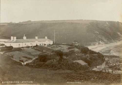 Mansands Beach, Kingswear Brixham History