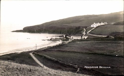 Mansands Beach, Brixham, Kingswear History