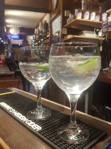 One of over 100 Gins Pickwick, Paignton (1)