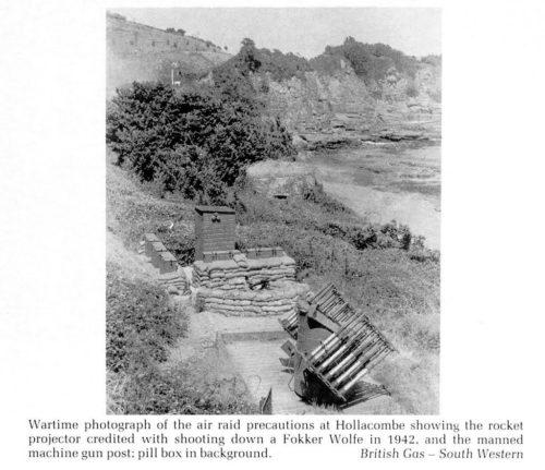 Hollicombe Beach Paignton, Torquay History