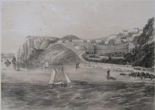 Meadfoot Beach, Torquay, History