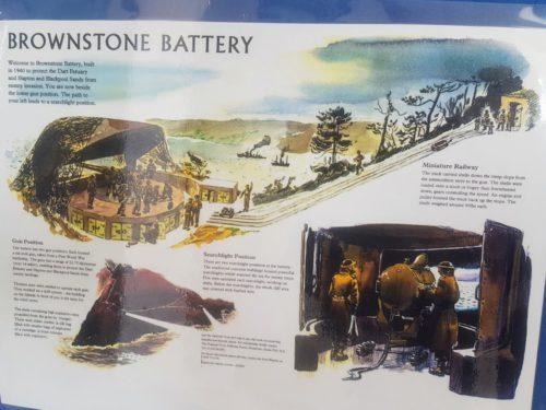 Brownstone Battery, Froward Point Kingswear