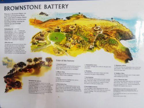Brownstone Battery, Froward Point, Kingswear