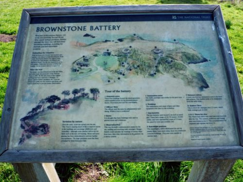 Brownstone Battery, Froward Point Kingswear