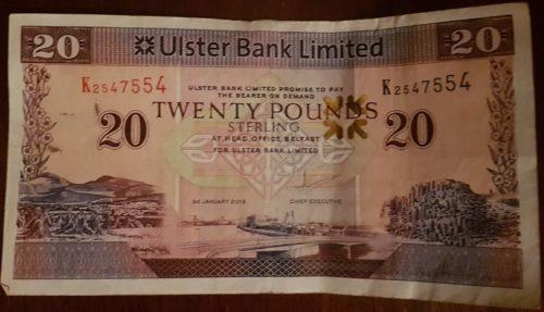 Northern Irish £20