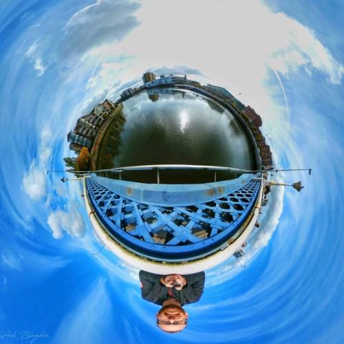 Belfast, Northern Ireland Tiny Planet