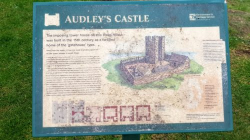 Audley's Castle Game of Thrones Winterfell, Castle Ward, Northern Ireland