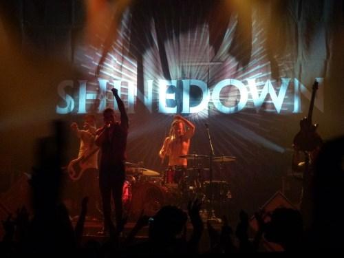 Shinedown 500x375 - Bucket List