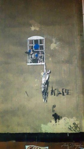 Bristol Banksy, Well Hung Lover