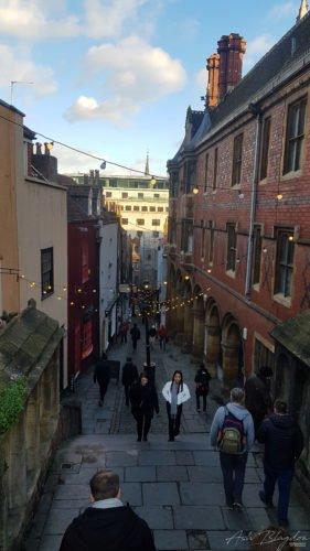 Bristol Christmas steps