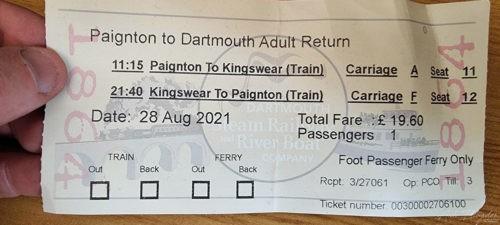 Dartmouth Steam Railway 2021 Paignton